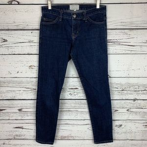 Current/Elliot Cropped Skinny Jean